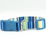 French Stripes Dog Pet Collar