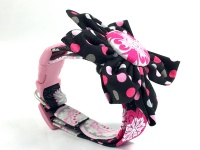 Fuschia Medallion Dog Pet Collar