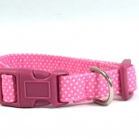 Ballerina Pink Dot Dog Pet Collar