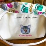 Catitude Tote- Special Order