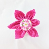 Assorted Pink Pet Collar Flowers