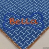 Custom Embroidered Cute Blue Bones Pet Bandana with Personalized Dog Bone and Pet Name
