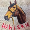 Personalized Horse Breed Hand Towel Gift with your horse's name