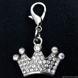 Princess Crown Charm Bling Jewelry for Dogs and Cats