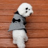 Bella & Friends Houndstooth Dress Coat for Dogs