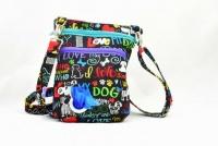 Dog Walker Bag Gift for Dog Lovers - I love my Dog
