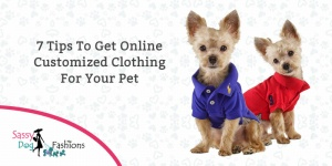 7 tips to get online customized clothing for your pet!