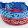 Stunning Male and Female Pink or Blue FRENCH FILIGREE CUSTOM DOG COLLAR