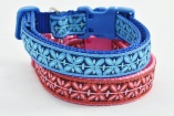 Stunning Male and Female DESIGNER FRENCH Pink or Blue FILIGREE COLLAR Dog Pet Lover Accessory Gift – Fashion Puppy Animal Walking