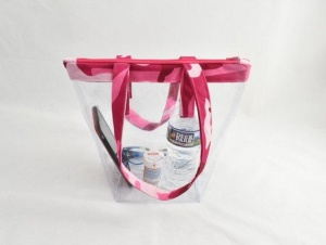 Pretty Pink Camouflage Tote Bag