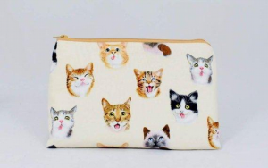 Cat Selfies Toiletry Travel Bag