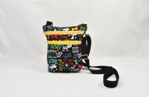 Stylish Crossbody Dog Walker Bag