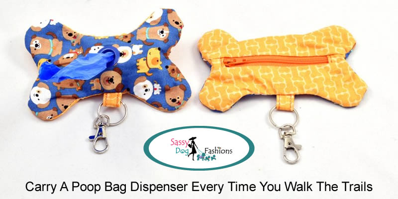 Carry A Poop Bag Dispenser Every Time You Walk The Trails