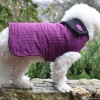 Custom Purple Quilted Dog COAT Jacket in all Sizes Small to Huge