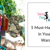 5 Must-Have Apparel in Your Dog's Wardrobe
