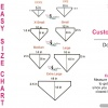 Custom Bandanas Size Chart Diagram
