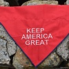 KEEP AMERICA GREAT Donald J. Trump Reversible Pet Dog Bandana in All Sizes for Cats and Puppies too