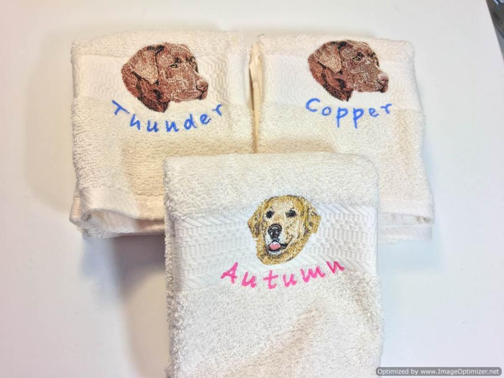 Unique Dog Breed Towels