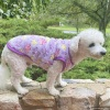 Warm and Soft PURPLE Plush Fleece Paw Print Dog and Puppy Pullover