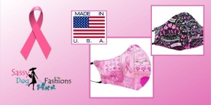 Celebrate Breast Cancer Awareness Month With SassyDogFashions' Masks