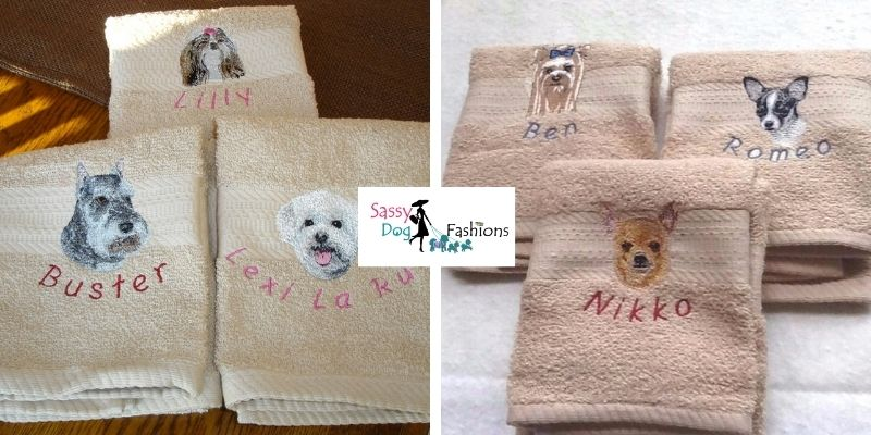 A Personalized Hand Towel