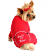 Red Christmas Dog Pajama – Santa's Lil' Helper