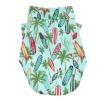 Hawaiian Camp Dog Shirt – Surfboards and Palms