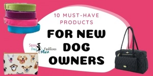 10 Must-Have Products For New Dog Owners
