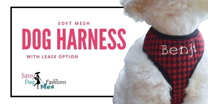 Soft Mesh Dog Harness