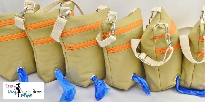 Stylish Dog Walker Bags