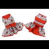 Christmas Holly Holiday Dog Harness Dress